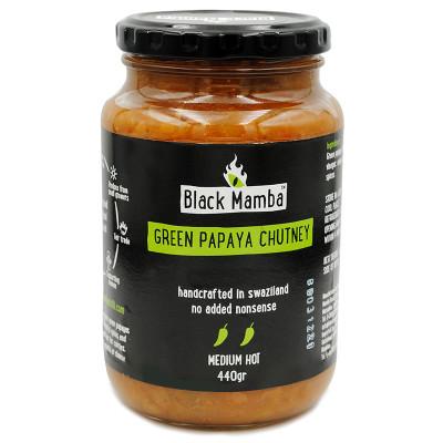 Black Mamba Green Papaya Chutney