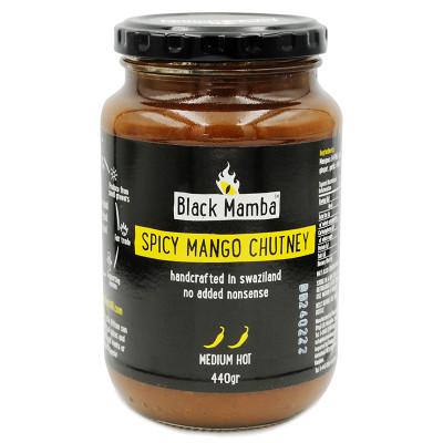 Black Mamba Spicy Mango Chutney