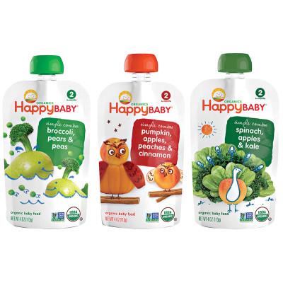 Happy Baby Organic Stage 2 Feeding Bundle