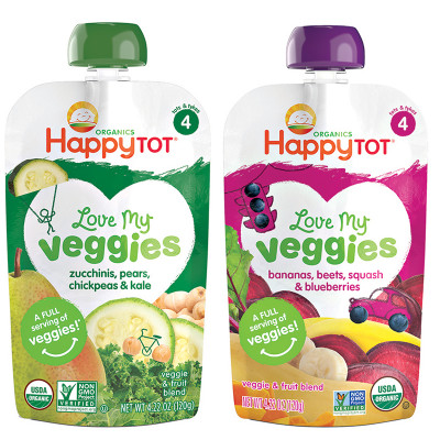 Happy Tot Veggies Bundle