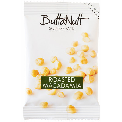 Buttanutt Roasted Macadamia Spread - Squeeze Pack