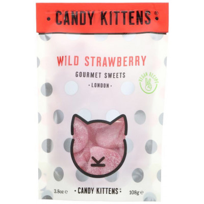 Candy Kittens Wild Strawberry Sweets