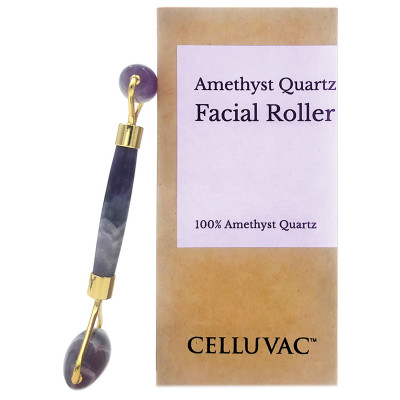 Celluvac Amethyst Crystal Facial Roller