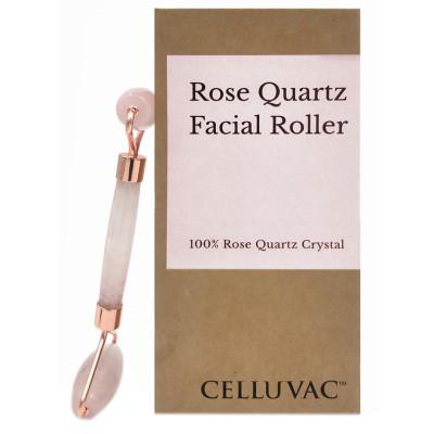 Celluvac Rose Quartz Facial Roller
