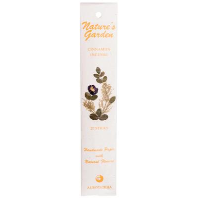 Nature's Garden Cinnamon Incense