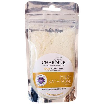 Chardine Goat Milk Bath Soak - Rose Geranium