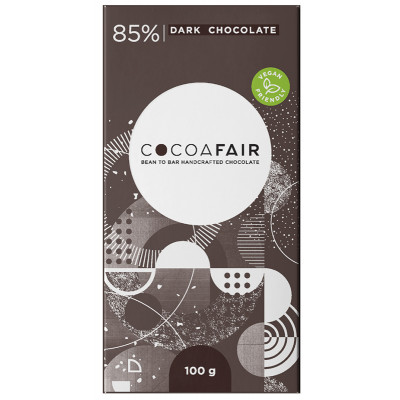 CocoaFair 85% Dark Chocolate
