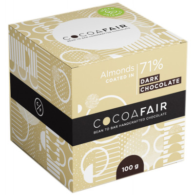 Cocoafair Almonds in 71% Dark Chocolate