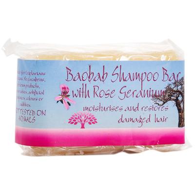 Coventry Baobab & Rose Geranium Shampoo Bar