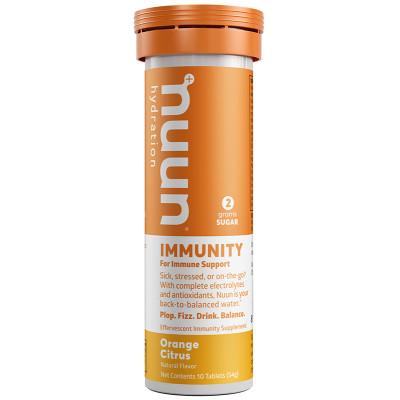 nuun Hydration Immunity Orange Citrus