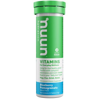 nuun Hydration Vitamins Blueberry Pomegranate