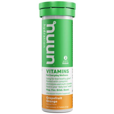 nuun Hydration Vitamins Grapefruit Orange