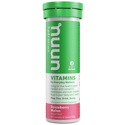 nuun Hydration Vitamins Strawberry Melon