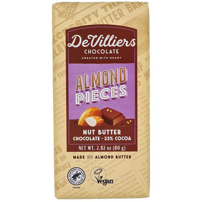 De Villiers Almond Nut Butter Chocolate