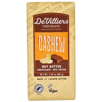 De Villiers Cashew Nut Butter Chocolate