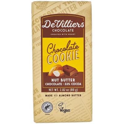 De Villiers Chocolate Cookie Nut Butter Chocolate