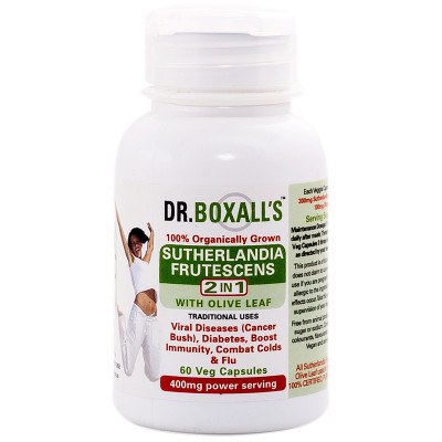 Dr. Boxall's Sutherlandia & Olive Leaf Extract Veggie Caps