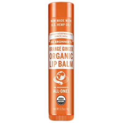 Dr. Bronner's Lip Balm Orange Ginger