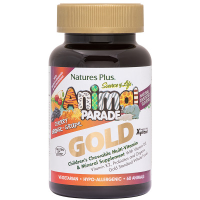Animal Parade Gold Multivitamin Assorted 120s