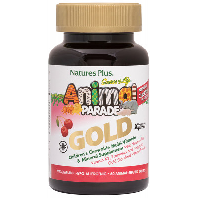Animal Parade Gold Multivitamin Cherry 60's