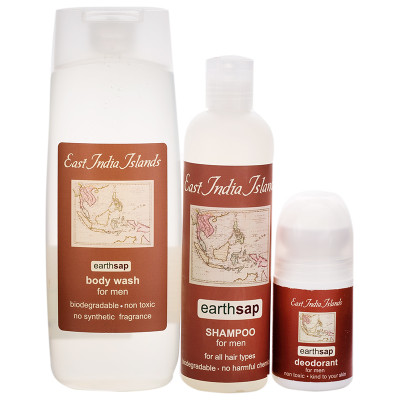 Earthsap East India Men's Gift Set