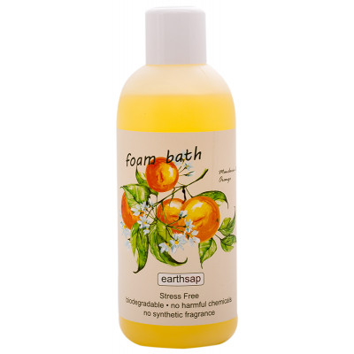 Earthsap Foam Bath - Orange & Mandarin