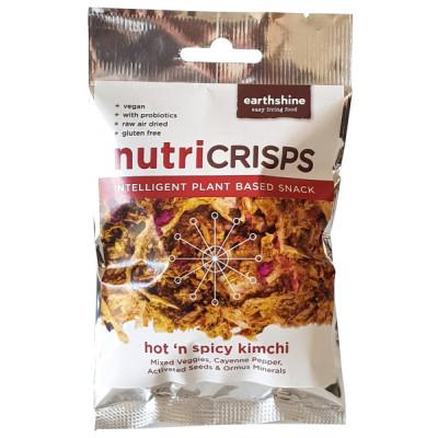 Earthshine Nutricrisps - Hot 'n' Spicy Kimchi
