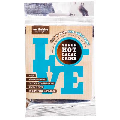 Earthshine Super Hot Cacao Drink - Zero Added Sugar