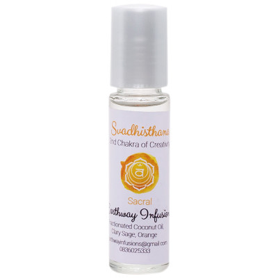Earthway Infusions Sacral Chakra Oil 2