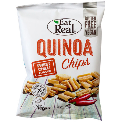 Eat Real Quinoa Chips - Sweet Chilli