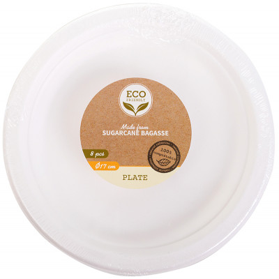 Eco Lifestyle Products Bagasse Plates