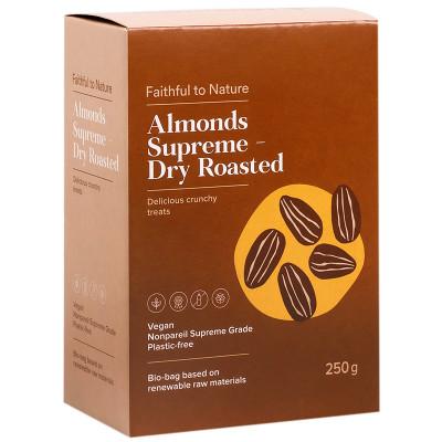 Faithful to Nature Almonds Supreme - Dry Roasted