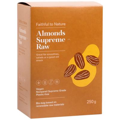 Faithful to Nature Almonds Supreme - Raw