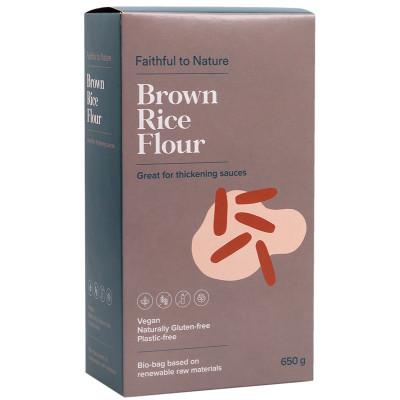 Faithful to Nature Brown Rice Flour