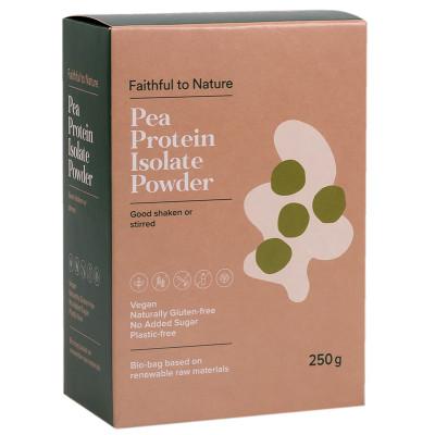 Faithful to Nature Pea Protein Isolate Powder