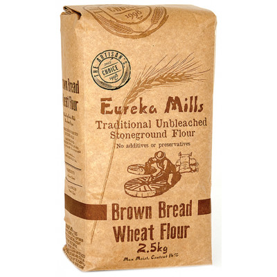 Eureka Unbleached Stone Ground Brown Bread Flour