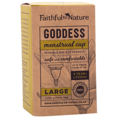 Faithful to Nature Goddess Cup Large