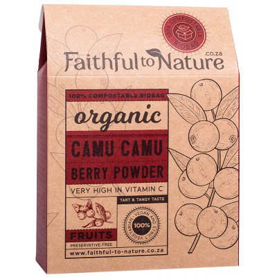 Faithful to Nature Organic Camu Camu Berry Powder (6:1)