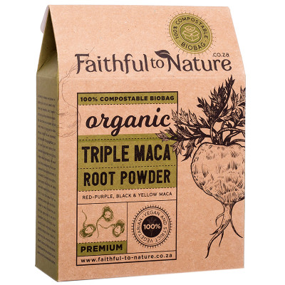 Faithful to Nature Organic Triple Maca Powder - Premium