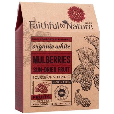 Faithful to Nature Organic White Mulberries