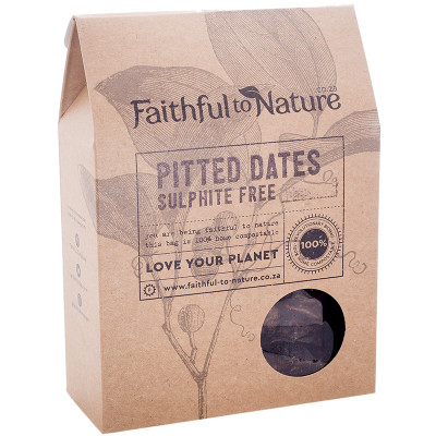 Faithful to Nature Dried Pitted Dates - Sulphite Free