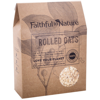 Faithful to Nature Rolled Oats