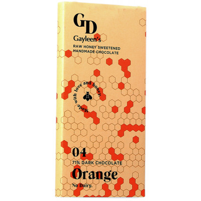 Gayleen's Decadence Orange chocolate