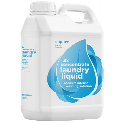 SoPure 3 x Concentrate Laundry Liquid - 5 Litre