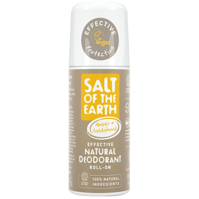 Salt of the Earth Natural Deodorant - Amber & Sandalwood