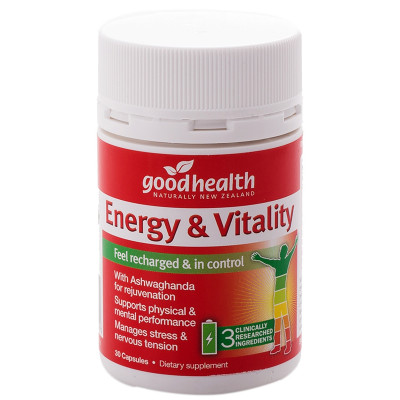 Good Health Energy and Vitality