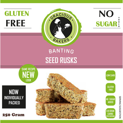 Gracious Bakers Banting Rusks