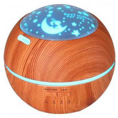 Crystal Aire Light Shadow Wooden Aroma Diffuser