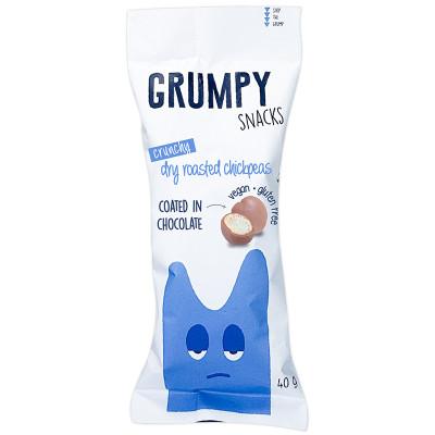 Grumpy Snacks Dry Roasted Chickpeas - Chocolate
