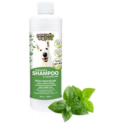 Pannatural Pets Shampoo & Conditioner - Itch Skin Relief